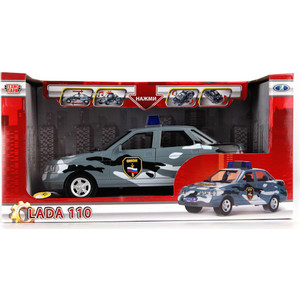 Машинка Технопарк Lada 110 омон (A553-H11063)
