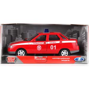 Машинка Технопарк Lada 110 пожарная служба (A553-H11058)
