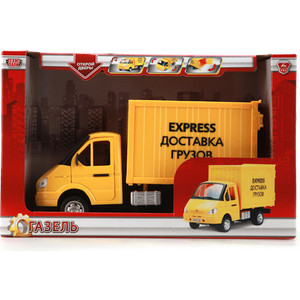 Фотография товара машинка Технопарк Фургон доставка грузов (A071-H11011-J006) (487961)
