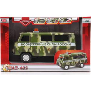 Машинка Технопарк УАЗ 452 вооруженные силы россии (CT12-427-5)