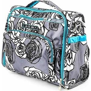 Сумка рюкзак для мамы Ju-Ju-Be B.F.F. charcoal roses (09FM02A-9444)
