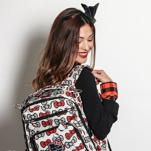 Рюкзак для мамы Ju-Ju-Be Be Right Back hello kitty peek a bow (14BP01HK-2916) цена