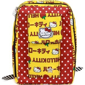 Рюкзак для мамы Ju-Ju-Be Mini Be hello kitty strawberry stripes (14BP02HK-3760) рюкзак для мамы ju ju be be right back hello kitty peek a bow 14bp01hk 2916