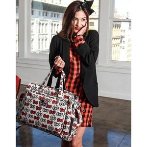 Дорожная сумка или сумка для двойни Ju-Ju-Be Be Prepared hello kitty peek a bow (14MBO1HK-2923)