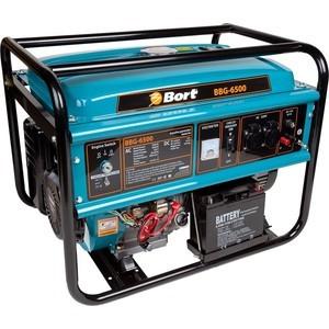 Генератор бензиновый Bort BBG-6500 генератор bort bbg 6500