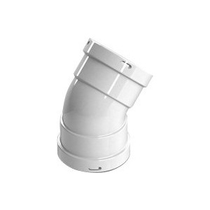 Отвод STOUT 45 градусов м/м диаметр 80 (SCA-0080-020045)
