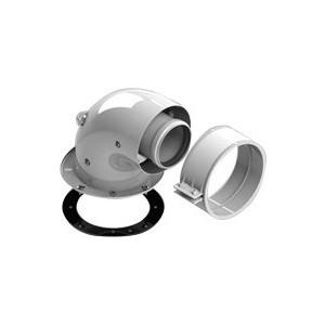 Адаптер-отвод STOUT диаметр 60/100 для котла угловой 90 градусов коаксиальный (SCA-6010-240190) адаптер stout диаметр 60 100 для котла вертикальный коаксиальный sca 6010 230100