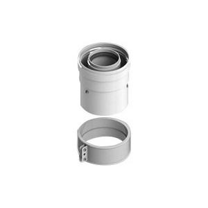 Адаптер STOUT диаметр 60/100 для котла вертикальный коаксиальный (SCA-6010-210100) адаптер stout диаметр 60 100 для котла вертикальный коаксиальный sca 6010 230100