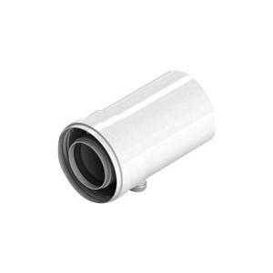 Патрубок STOUT горизонтальный диаметр 60/100 п/м для сбора и отвода конденсата (SCA-6010-000102)