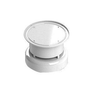 Оголовок STOUT диаметр 60/100 дымохода вертикальный защита от ветра и осадков (SCA-6010-000103) адаптер stout диаметр 60 100 для котла вертикальный коаксиальный sca 6010 230100