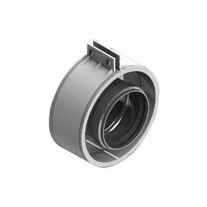 Муфта STOUT для соединеия труб диаметр 60/100 м/м с уплотнением хомут с муфтой EPDM в комплекте (с лого) (SCA-6010-000002)