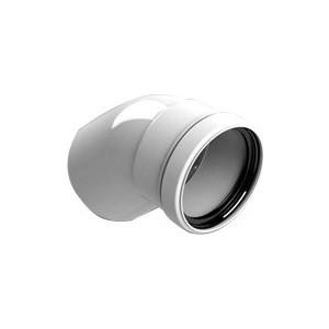 Отвод STOUT 45 градусов диаметр 80 м/п PP-FE (SCA-8080-000045)