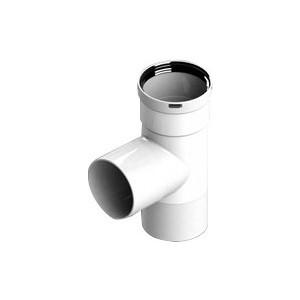 Тройник STOUT прямой диаметр 80 п/п/м PP-FE (SCA-8080-030210)