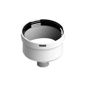 Заглушка STOUT 80 мм с патрубком для отвода конденсата (SCA-8080-010088)