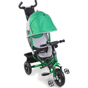 Велосипед Mini Trike Зеленый белая рама (950D) велосипед трехколесный mini trike animals sport крокодильчик зеленый