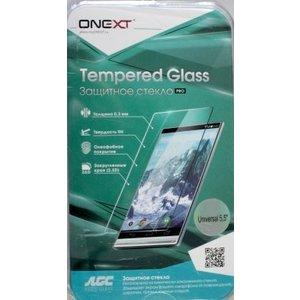 Защитное стекло Onext для дисплеев 5,5'' универсальное (40964)