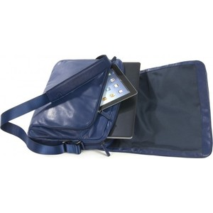 "Сумка Tucano 15"" One Premium Messenger BMOP15-B Blue для MacBook Pro"