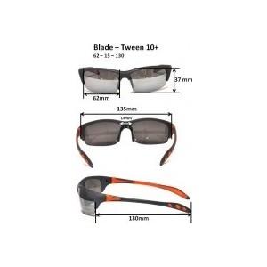 Cолнцезащитные очки Real Kids для тинейджеров Blade графит/оранж (10BLDGROR)