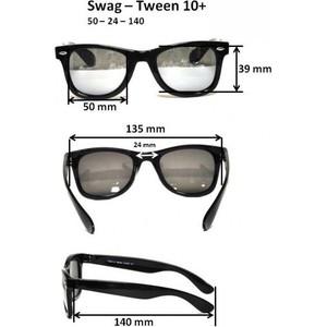 Cолнцезащитные очки Real Kids для тинейджеров Wag черный/синий (10WGBKBL)