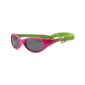 Cолнцезащитные очки Real Kids детские Explorer розовый/лайм (4EXPCPLM)