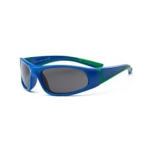 Cолнцезащитные очки Real Kids детские Bolt синий/зеленый 4-7 лет (4BOLRYGR) женская одежда для спорта