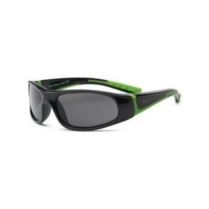 Cолнцезащитные очки Real Kids детские Bolt черный/лайм 4-7 лет (4BOLBKLM)