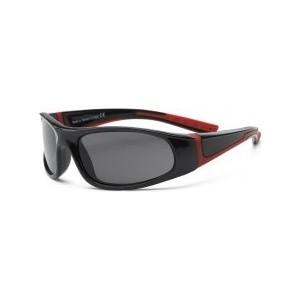 Cолнцезащитные очки Real Kids детские Bolt черный/красный 4-7 лет (4BOLBKRD)