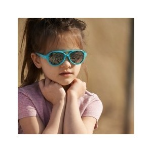 Cолнцезащитные очки Real Kids детские Авиатор бирюза (2KYAQU)