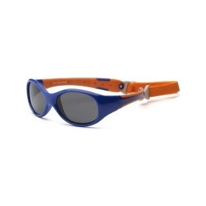 Cолнцезащитные очки Real Kids детские Explorer синий/оранжевый 2- 4 года (2EXPNVOR)