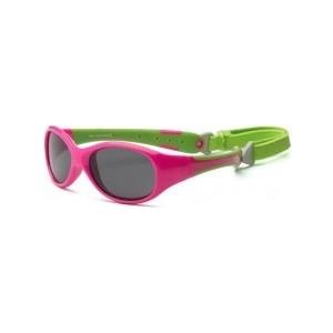 Cолнцезащитные очки Real Kids детские Explorer розовый/лайм 2-4 года (2EXPCPLM)