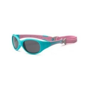 Cолнцезащитные очки Real Kids детские Explorer розовый/бирюза 0-2 года (2EXPAQPK) цена