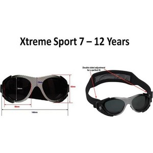 Cолнцезащитные очки Real Kids детские Hade от 7-12 лет  (712XTRBLACK)
