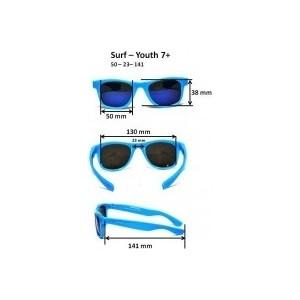 Cолнцезащитные очки Real Kids детские Серф черные (7URBLK)