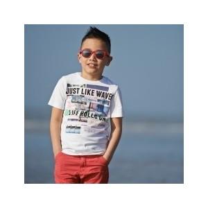 Cолнцезащитные очки Real Kids детские Серф красные (7URRD)