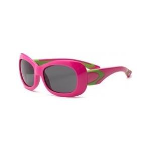 Cолнцезащитные очки Real Kids детские Breeze для девочек с поляризацией розовый/салатовый (7BRECPLMP2)