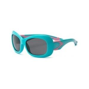 Cолнцезащитные очки Real Kids детские Breeze для девочек аквамарин/розовые 4-7 лет (7BREAQPK)