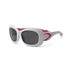 Cолнцезащитные очки Real Kids детские Breeze для девочек белый/розовый 4-7 лет (7BREWHPK)