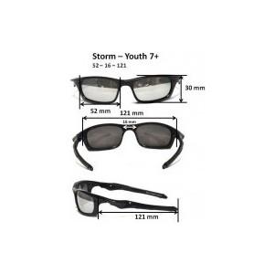 Cолнцезащитные очки Real Kids детские Torm черные (7TOBLK) цена