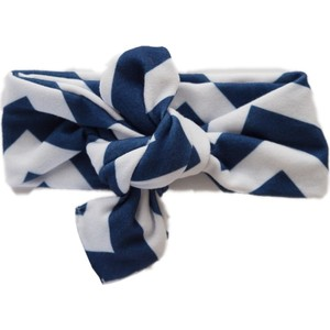 Повязки Itzy Ritzy City Chevron Navy (TKNOT8114)