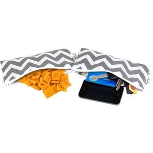 Комплект сумочек Itzy Ritzy Grey Chevron (MSWB8003)