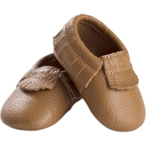 Детские мокасины Itzy Ritzy Toasted Almond размер 0-6 мес (MOC2000-06)