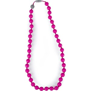 Слингобусы Itzy Ritzy Round Bead Hot Pink (BEADNECK8102) слингобусы ti amo мама слингобусы паола бежево розовые