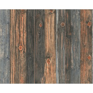 Обои виниловые AS Creation Wood & Stone 0.53 х 10 м (9086-12)