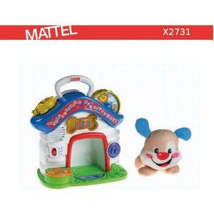 Развивающая игрушка Fisher Price обучающий центр собачки русский и английский (X2731)