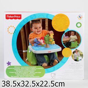 Стульчик Fisher Price discover 'n grow busy baby boster cо столиком (X6835)