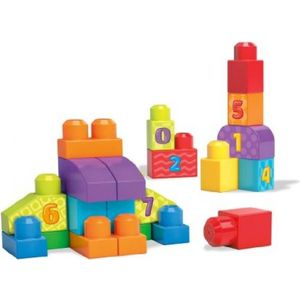 Конструктор Mattel Mega bloks first builders учимся считать (DLH85) от ТЕХПОРТ