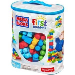 Конструктор Mattel Mega bloks first builders обучающий 80 деталей (CYP72) от ТЕХПОРТ