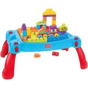 Конструктор Mattel Mega bloks first builders стол для конструирования строй и развивайся (CNM42) от ТЕХПОРТ