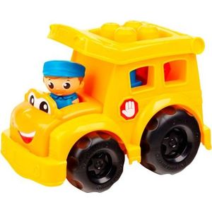 Конструктор Mattel Mega bloks first builders школьный автобус сонни (CND83)