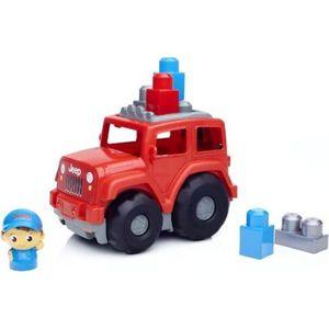 Конструктор Mattel Mega bloks jeep внедорожник (CND61) от ТЕХПОРТ